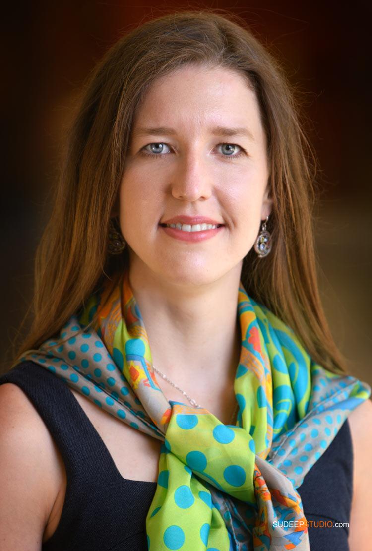 Professional Business Portrait for Women in Technology Automotive Linkedin by SudeepStudio.com Ann Arbor Portrait Photographer