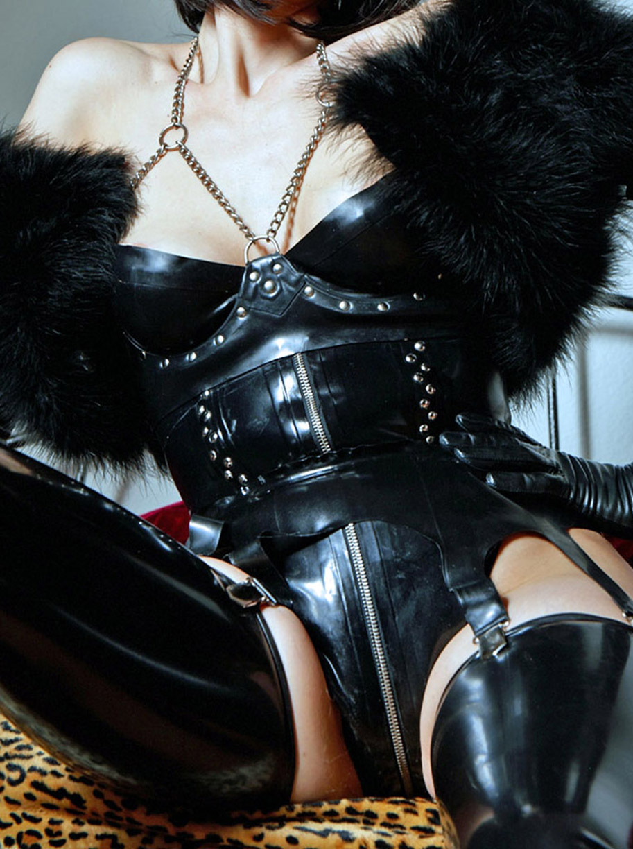 Femdom Leather Video