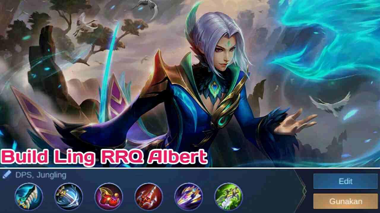 Build Ling RRQ Albert