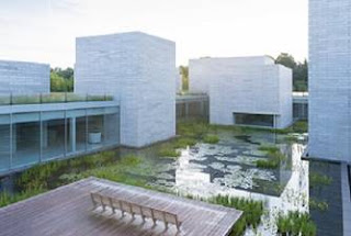The Water Court of the Pavilions. Photo: Iwan Baan. Courtesy: Glenstone Museum.