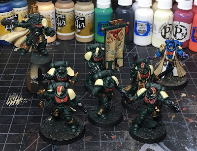 40K Blades of Vengeance Characters WIP