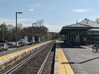 Franklin's Forge Park Station platform