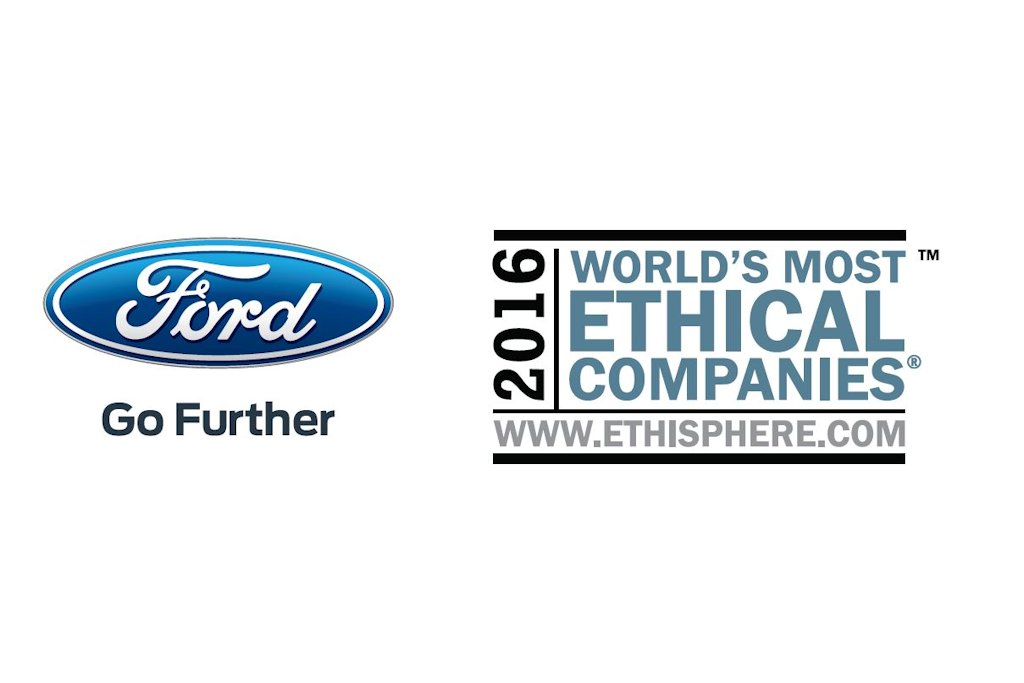 ford is only automaker named in world u0026 39 s most ethical