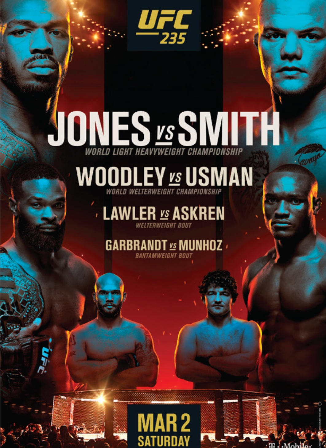 MMA Fight Opinion: UFC 235 Jones vs Smith: Fight Card, Half