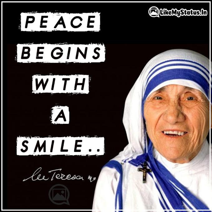 110 Mother Teresa Quotes | Love | Life | God | Inspiration