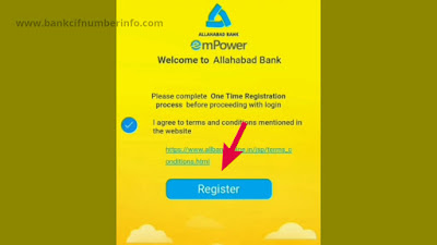 Register with mobile number