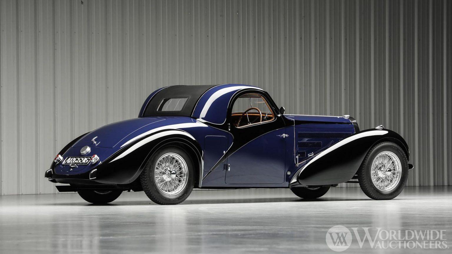 بوجاتي تايب 57 سي أتالانت كوبيه موديل 1938