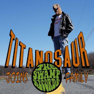 TITANOSAUR gets in The Swamp!