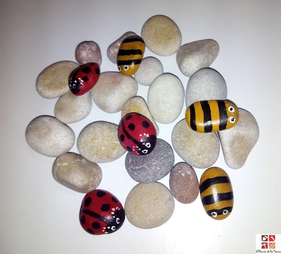 piedras pintadas a mano