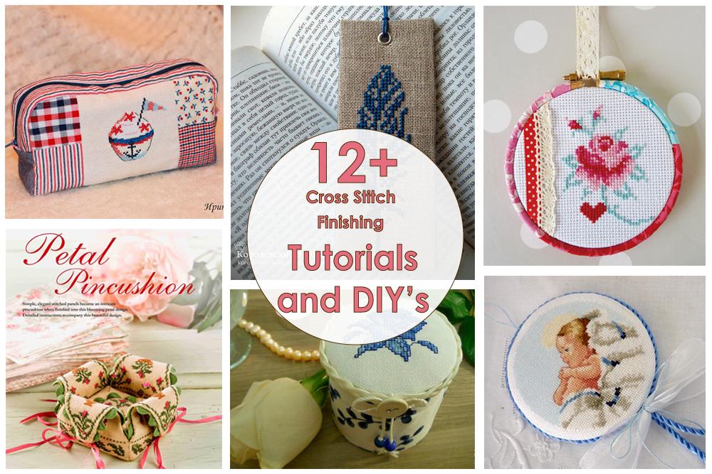 мастер-класс по оформлению вышивки своими руками | Tutorials and DIY's: Cross Stitch Finishing