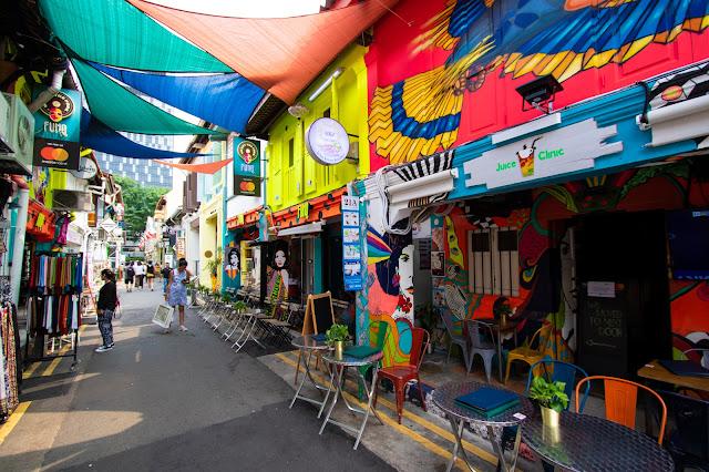 Haji lane-Singapore
