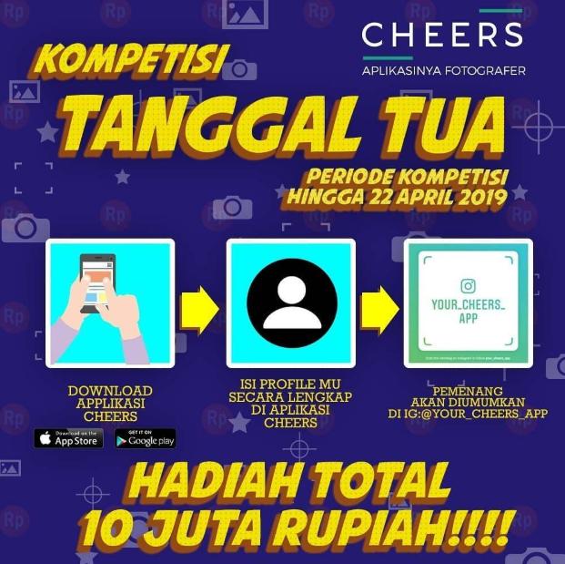 Tanggal Tua Cheers Competition 2019 dari Your Cheers APP
