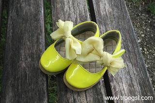 neongelbe Sandalen, gelbe Schuhe, Lieblingsschuhe