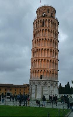 Maraton Pisa - Torre de Pisa