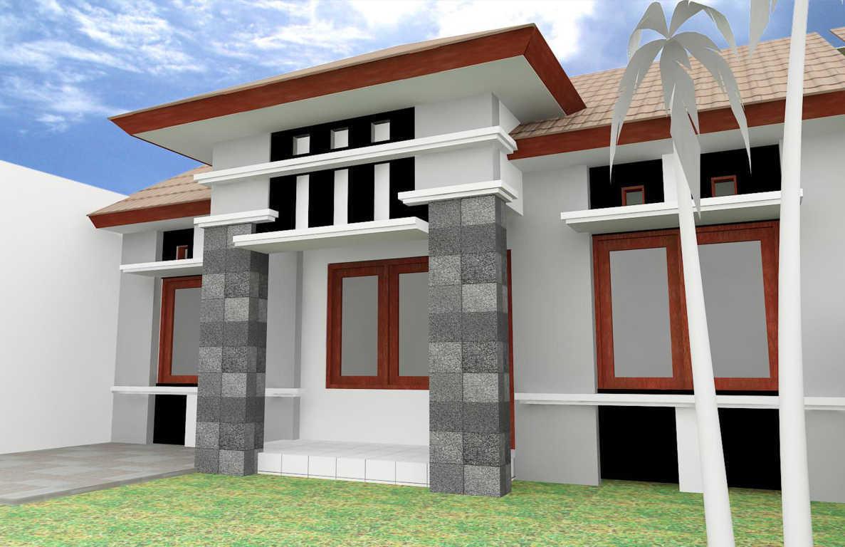 Tiang Rumah Minimalis Batu Alam