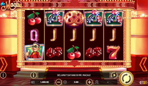 Main Gratis Slot Indonesia - Mr. Macau Betsoft