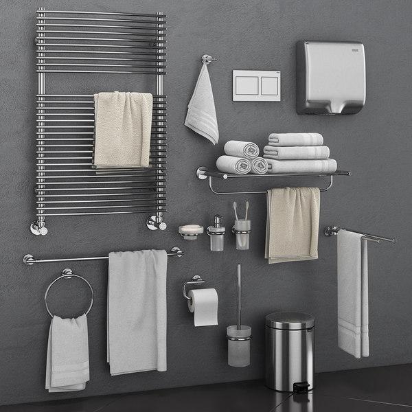 unique bathroom accessories set original