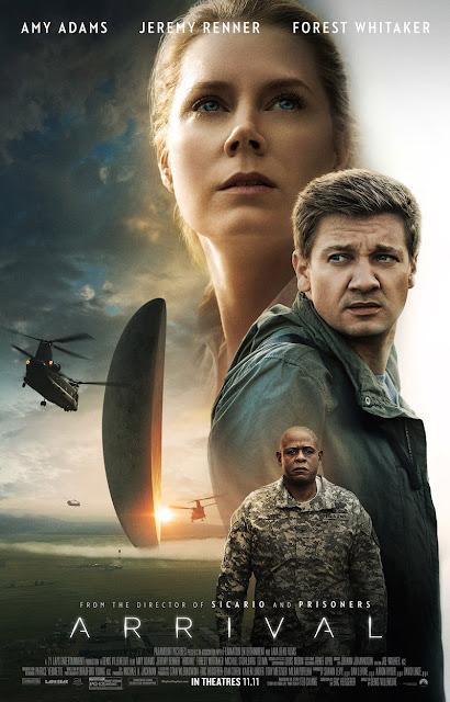 Arrival, Movie Poster, Director Villeneuve