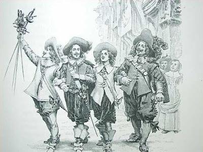 Los tres mosqueteros y sus dubia