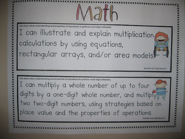 Ashleigh' Education Journey 4th Grade Common Core Standards