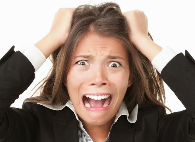 estrés y caida del cabello