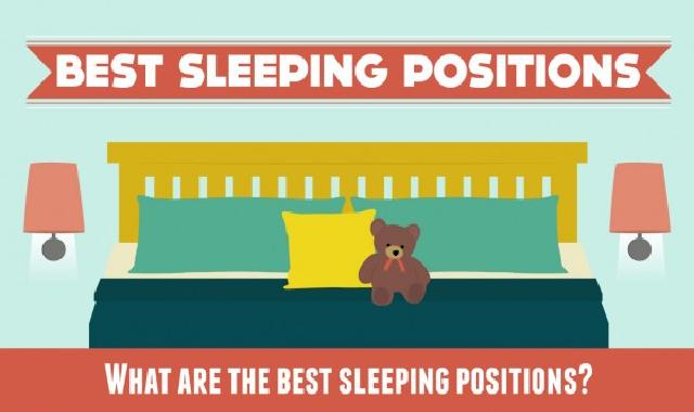 Best Sleeping Positions #infographic,sleeping positions, best sleeping position for neck pain, proper sleeping positions, sleeping positions for back pain, sleeping positions for lower back pain
