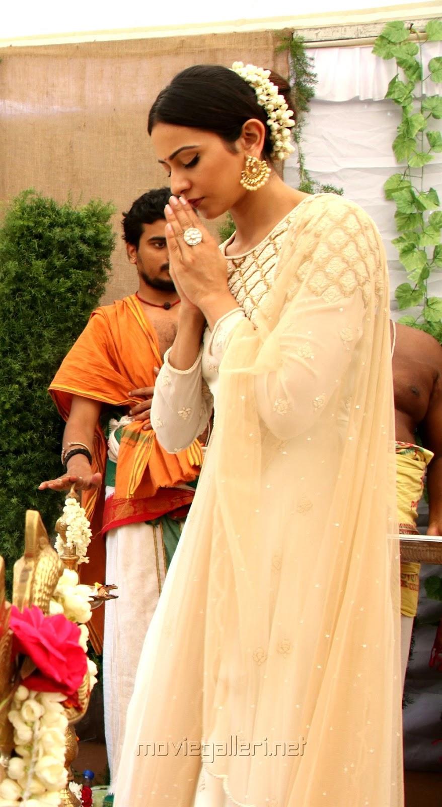 Rakul Preet Singh Beautiful Photos In Long Dress Celeb Star Zone