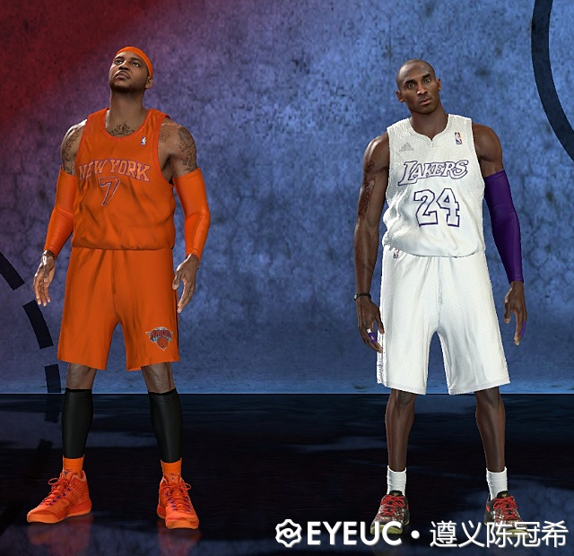 NBA 2K21 2021 CHRISTMAS JERSEY (KNICKS AND LAKERS) BY 211 , Sparc and kan1