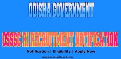 OSSSC Recruitment Notification 2021