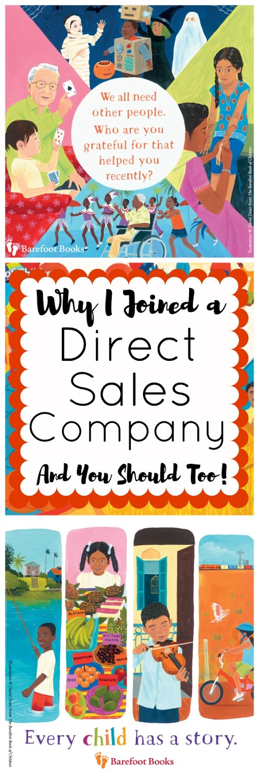 I can't believe I'm saying this, but I joined a direct sales company. What company did I join? What did they offer? What do they represent? Follow the link to read all about it!