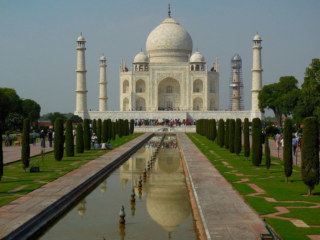 Taj Mahal in all its glory