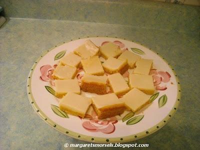 Margaret's Morsels   Quick and Easy Lemon Bars
