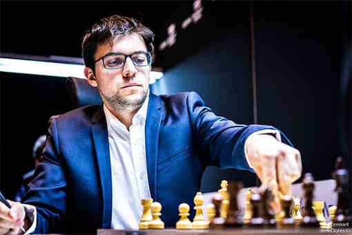 Maxime Vachier-Lagrave, joueur d'échecs français et n°5 mondial