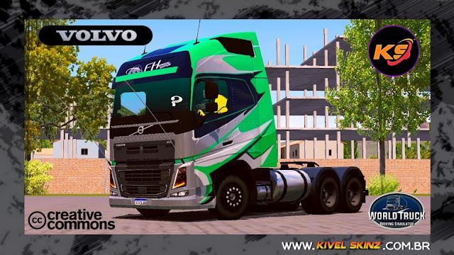 VOLVO FH16 750 - GRAFITADA GREEN