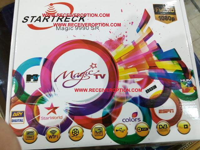 STARTRECK MAGIC 9990 SR HD RECEIVER AUTO ROLL NEW SOFTWARE