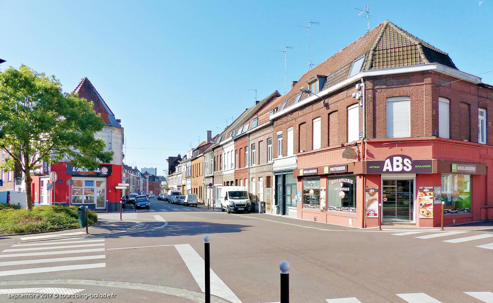 Rue de la Croix-Rouge, Tourcoing.