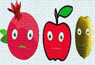 Il melograno, il melo, l'ulivo e il rovo (Esopo)