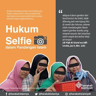 Hukum Selfi dalam Pandangan Islam - Qoutes - Kajian Medina
