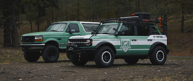 FILSON X FORD - Wildland Fire Rig Concept & Bronco Gear
