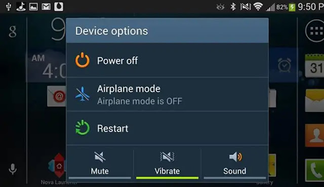 Airplane mode - improve 4g data speed