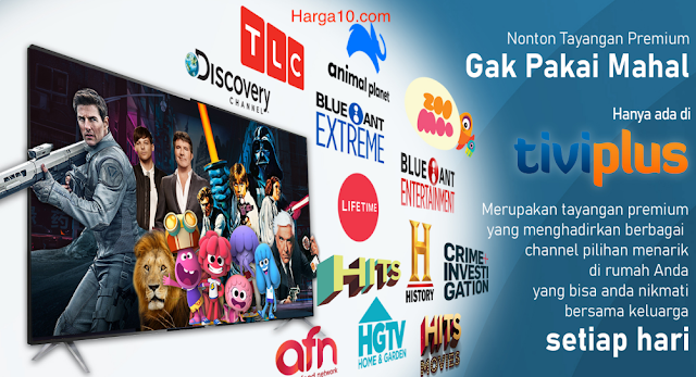 Harga TV Voucher TiviPlus Ninmedia Murah