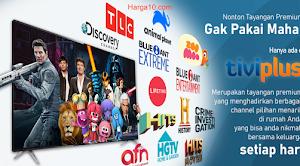 Harga TV Voucher TiviPlus Ninmedia Murah 🥇