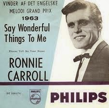 Ronnie Carroll Say Wonderful Things