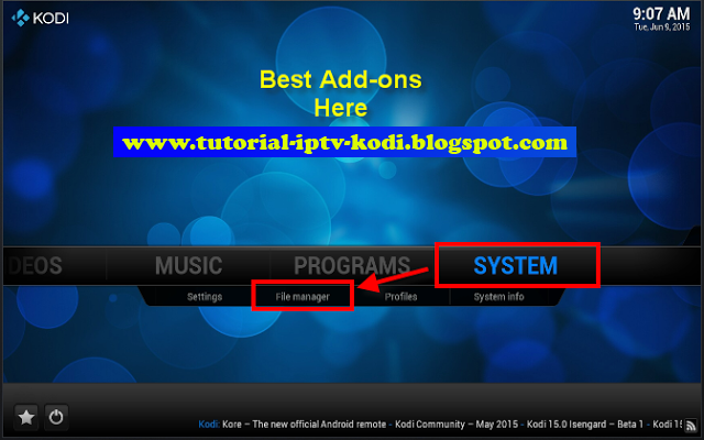 21 step for Install Indigo Kodi Addon