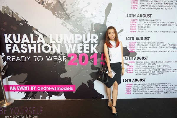 Kuala Lumpur Fashion Week Ready To Wear 2015 : Day 5 | Designer Collection