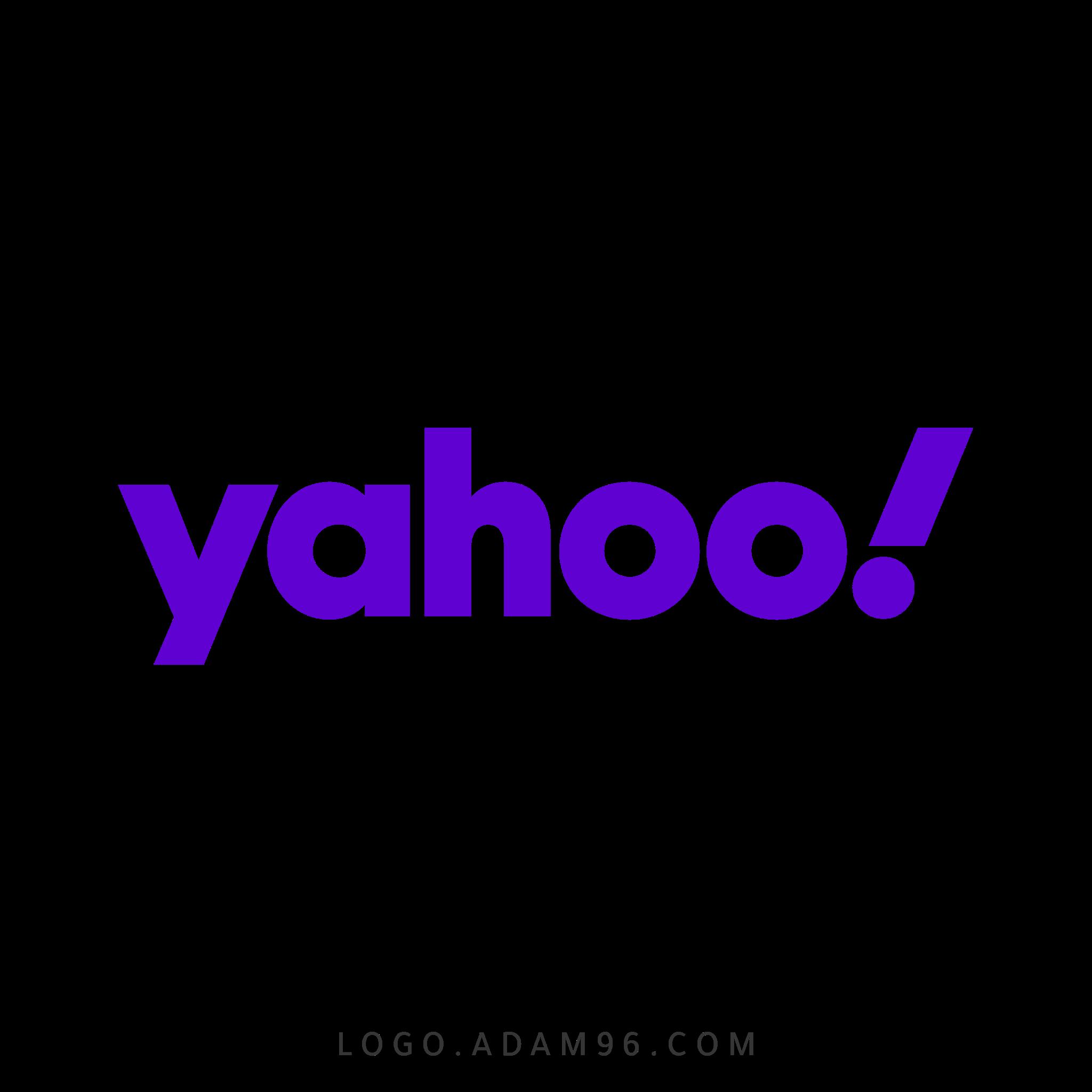 تحميل شعار محرك بحث ياهو لوجو رسمي بصيغة شفافة PNG