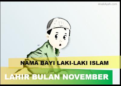 80 nama bayi laki-laki islam yang bagus dan lahir bulan november.