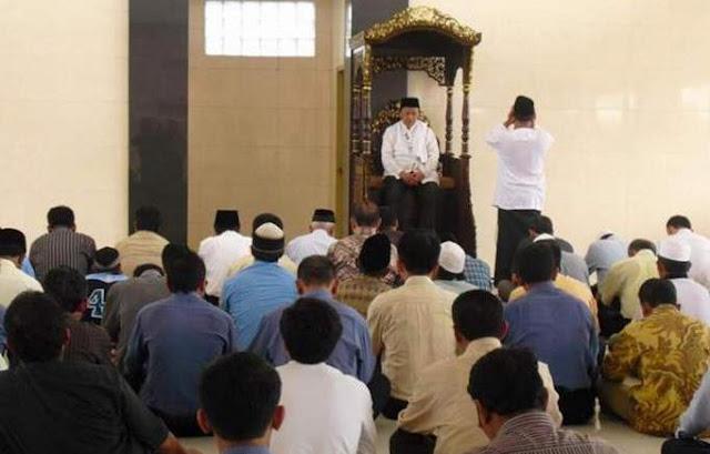Bacaan Tarqiyyah oleh Bilal Sholat Jum'at Lengkap Bacaan Sholawat antara 2 Khutbah