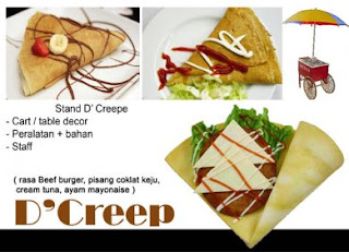 Crepes for Birthday Parties Jakarta