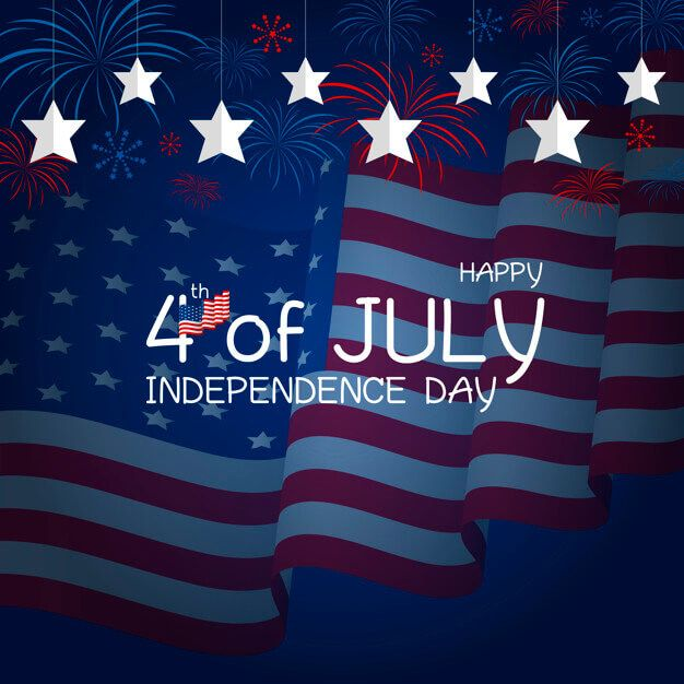 happy fourth of July images clipart 2021